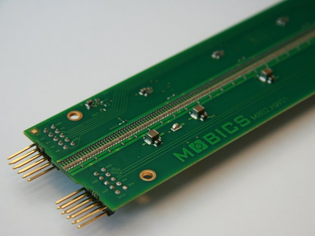 Mobics optical sensor board